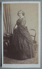 Photo Cdv Femme Par Bisson Frères Paris Vers 1860