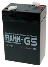 Fiamm | FGS FG10451 6V 4,5Ah Faston 4,8mm LC-R064R5P Powerfit S306/4S