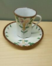 Nippon Hot Chocolate Cup and Saucer Hand Painted