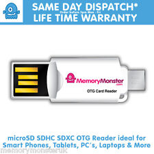 Micro USB OTG Adapter + Micro SD TF Card Reader For Samsung Galaxy S6/S5/S4/S7