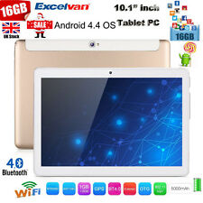 "Unlocked 10.1"" Excelvan Tablet PC Android 4.4 16GB WiFi 3G Dual Camera GPS OTG"