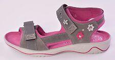 Ricosta Azani Infant Girls Grey Suede Sandals UK 9 EU 27 US 9.5 Medium