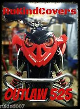POLARIS PREDATOR  REAPER HEADLIGHT COVER'S EYES RuKind Covers