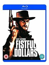 A FISTFUL OF DOLLARS BLU RAY Brand New Sealed UK Release Clint Eastwood