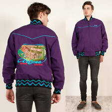 MENS GRAND CANYON ARIZONA EMBROIDERED AZTEC WESTERN BOMBER JACKET HIPSTER XL