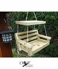 Bird Feeder Novelty Garden Bench Hanging
