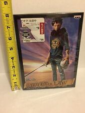 Figure One Piece Trafalgar Law Master Stars Banpresto Anime Original From Japan