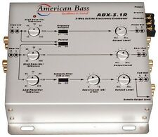 American Bass ABX31A 3-Way Active Crossover