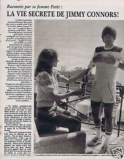 Coupure de presse Clipping 1981 Jimmy Connors  (3 pages)
