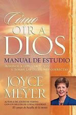 Como Oir A Dios Manual De Estudio (Spanish Edition), Meyer, Joyce