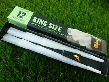 12 x Jware pre rolled king size 109mm cones rolling paper ready made J Ware