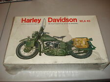 HARLEY DAVIDSON WLA 45 MILITARY MOTORCYCLE - VERY RARE KIT#7002 - FACTORY SEALED
