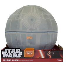 STAR WARS DEATH STAR MEDIUM TALKING PLUSH LIGHT AND SOUNDS GREAT GIFT