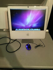"A1173 Apple iMac 17"" DUO 160gb RAM 2gb HDD DVD Wi-Fi iSight da Intel di lavoro UK 1.83"