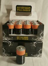 Duracell Battery Diversion Safe Stash Box Spot Contained D Cell Battery Display