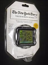 NEW YORK TIMES TOUCH SCREEN SUDOKU GAME NEW FACTORY SEALED L@@K