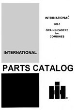 International Harvester Feeder for 403 503 615 715 815 915 Combine Parts Manual