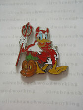 PRE-PRODUCTION Disney Halloween 2009 DONALD DUCK DEVIL Pumpkin Boxed Set Pin PP