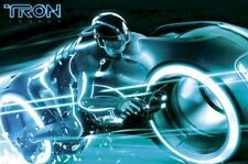 TRON LEGACY ~ LIGHT RUNNER SAM SPEED ~ 24x36 DISNEY MOVIE POSTER ~ NEW/ROLLED!