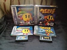MS. PAC-MAN MAZE MADNESS WORLD 2 Nintendo GameBoy Advance GBA DS namco PAC MAN