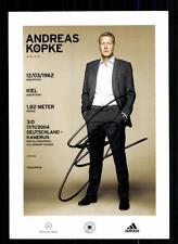 Andreas Köpke DFB Autogrammkarte 2014 2.Karte Original Signiert + A 104521