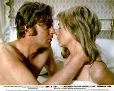 Zee & Co. Original Lobby Card Michael Caine Sussanah York Kiss