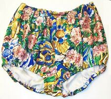 DOLCE & GABBANA Floral Silk Sequin Hot Pants Shorts 40 4
