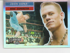 Complete Set of 90 Topps Chrome WWE Heritage Trading Cards