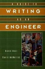 A Guide to Writing as an Engineer, David F. Beer, David A. McMurrey, Good Book