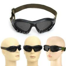 Lunettes Goggle Protection Airsoft Anti Tactical Tactique Combat Grillage Grille