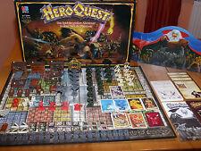 Hero Quest Brettspiel 100 % komplett unbemalt HeroQuest Original von MB TOP
