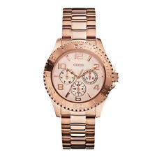 GUESS WOMEN W0231L4 Rose Goldtone Multifunction BRAND NEW ORIGINAL
