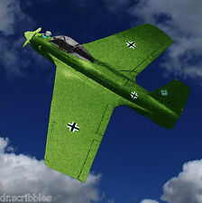 Radio Control Me 163 KOMET MODEL AIRPLANE PLANS INCLUDES  BUILDING & SCALE NOTES