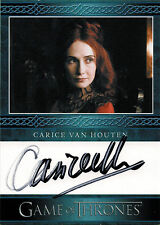Game of Thrones Season Three Autograph Card Carice van Houten as Melissandre