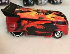 Hot Wheels Volkswagen Liberty FIRE Dragon VW Drag Bus ONLY1300 MADE !!!