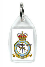 ROYAL AIR FORCE SCHOOL OF AEROSPACE BATTLE MANAGEMENT KEY RING ACRYLIC