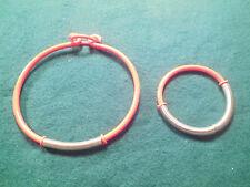 Red Spring Loaded Necklace & Bracelet