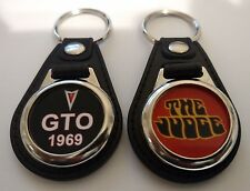 PONTIAC GTO 1969 and a THE JUDGE KEYCHAIN 2 PACK