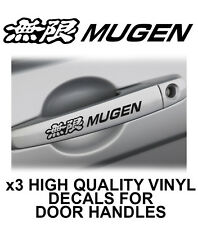 HONDA MUGEN Door Handle Vinyl Decals Stickers
