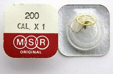 MSR original parts  Ref. 200 for caliber X1 centre wheel   New Old Stock