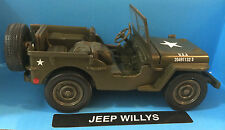 NewRay 1:32 scale Jeep Willys diecast model  WW II Military US Army Vehicle