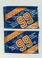 1982-83 Neilson Wayne Gretzky 2 Different Cookie Wrappers