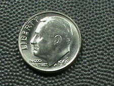 UNITED STATES     10 cents   1969  -  D     BRILLIANT  UNCIRCULATED