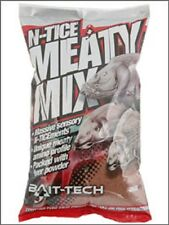 1kg OF BAIT TECH N-TICE MEATY METHOD MIX IDEAL FOR CARP / COARSE FISHING