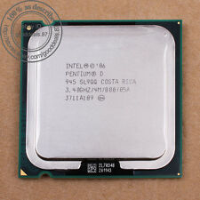 Intel Pentium D 945 3.4 GHz Dual-Core (SL9QQ SL9QB) Processor Socket LGA 775 CPU