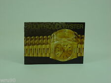 Genuine Rolex booklet vintage Your Rolex Oyster instruction 1990