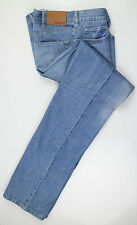 New. ZEGNA SPORT Blue Cotton Blend Denim Jeans Pants Size 52/36 $290