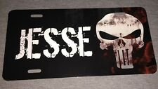 Punisher License Plate New Car Tag Personalized Name Initials
