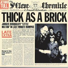 JETHRO TULL - THICK AS A BRICK  VINYL LP NEU