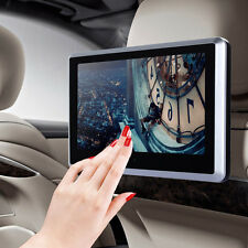 10'' TV WIDE SCREENS LCD HEADREST MONITORS TOUCH IR DVD/USB/SD for HEADPHONES